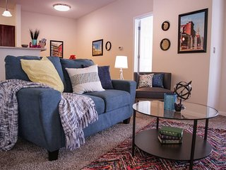 PICTURESQUE 2BR APT NEAR MASS AVE W/ CITY VIEWS