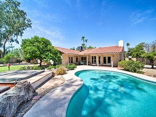 NEW! Cozy Scottsdale Home w/Private Pool & Hot Tub