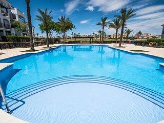 Pool front apartment (Sleeps 4) - La Torre Golf Resort - MurciaVacations MO3012L