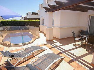 MurciaVacations - Bungalow Villa with Pool, 2 Bedrooms and rooftop solarium - La
