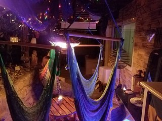 Unique Zen Den and Outdoor Weed / Hammock Lounge