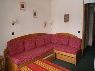 Bel appartement de 2 pièces au pied des pistes pour 5 personnes