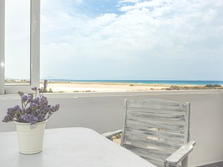 Naxos M. vigla  beachfront villa for 5