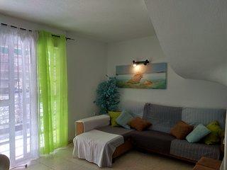 Duplex 4 dormitorio en primera linea de playa. Wifi y parking gratis