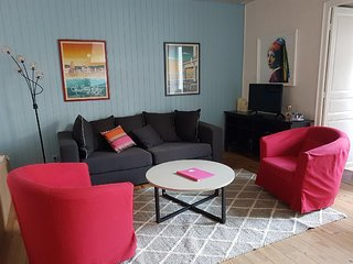 Heart of the city, exceptional apartment 3 bedrooms, 6 people terrace, parking