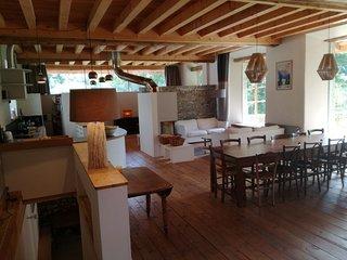 Chalet rénové Les Sybelles (15 personnes, sauna)