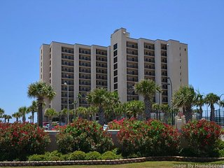 Gorgeous beachfront condo with shared pool and tennis court