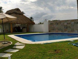 departamento completo con alberca en miramar, manzanillo, colima, Mexico.