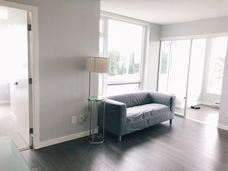 Brand new cozy 2 bdrs 2 bathrooms apt near metrotown