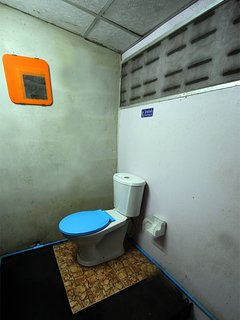 Second Clean and convenient toilet with shower