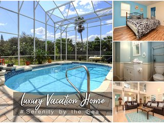 Feb Specials! 'Serenity by the Sea' - Luxury Pool Home - 5BR/4.5BA