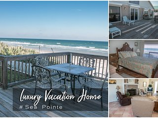 Oct Specials! 'Sea Pointe' Luxury Oceanfront Home - 3BR/3BA