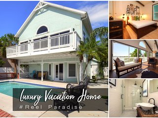 Dec Specials! 'Reel Paradise' - Riverfront Pool Home - 3BR/3BA