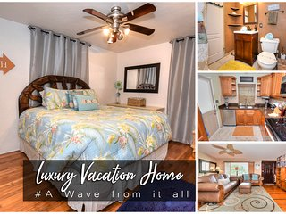 Feb Specials! 'A Wave from it all' Home - Main Street - 2BR/1BA