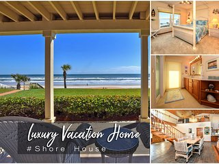Dec Specials! 'Shore House' - Luxury Oceanfront Home - 3BR/3BA