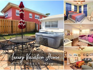 Nov Specials! 'The Beach Hive' Luxury Home - Hot Tub - 3BR/2BA