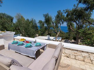 Paxosblue. Stylish stone villa with amazing sea views and private pool.