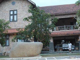 The artistic Villa in Yogyakarta