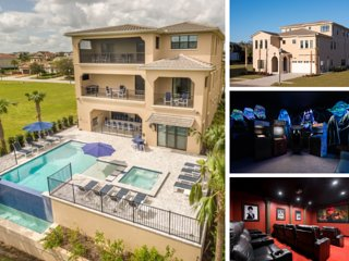 W263 - Large Luxury Villa On Reunion Resort