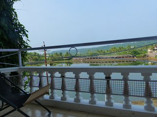 Relax at our Resort Home with Beautiful Lake View - FunHolidaysGoa