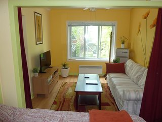 Furnished apartment located in 2 min feet to metro