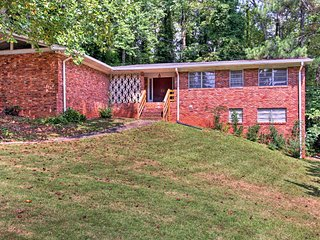 NEW! 'Birdie's Nest' Peaceful Atlanta Area Home!