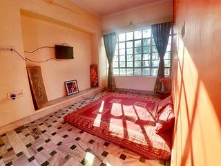 Panna Vilas (Magic Kingdom) 5 Bed/Hall/Kitchen Villa with Teeace/Garden/Parking!
