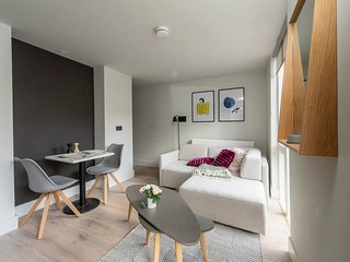 Modern 1BD Flat w/ Roof Top Access in Castlefield