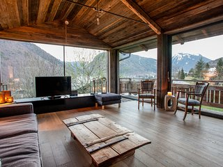 Unique loft style 200m2 chalet