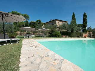 San Gimignano Top Location,4DBL en suite,air conditioning,private pool,TOP view