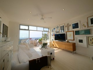 Sea Views & Sunshine at Designer Tamarama Apartment