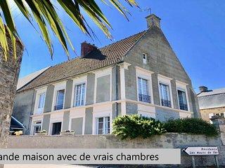 Le Relais de Ver.Grande maison face aux plages du debarquement