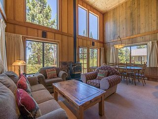 Tahoe Donner Home with Views Galore!