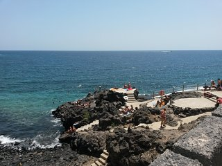 Amarilla Rocks: ideal for 4 persons, in Tenerife South, close to Ocean