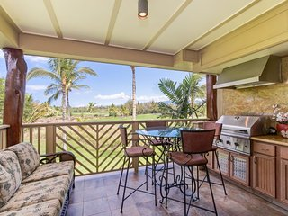 G22 Waikoloa Beach Villas.  BBQ Grill on the lanai!