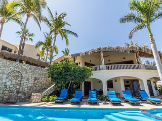 Villa with Breath taking view of the Palmilla beach and sea of Cortez