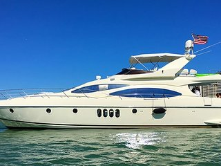 68' Azimut - Yacht Party Rental!