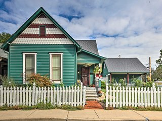 Eclectic Home w/ Firepit & BBQ - Steps to Mass Ave