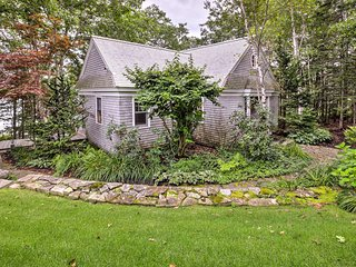 NEW! Waterfront Maine House with Wraparound Deck!