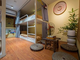 #21 BUNK BED - SPECIAL DEAL FOR SINGLE GUEST - COZY SPACE IN HANOI OLD QUARTER