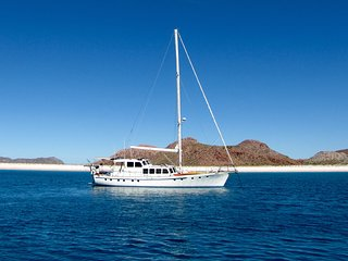 Big Beautiful 70' Motorsailer in La Paz, Baja California Sur