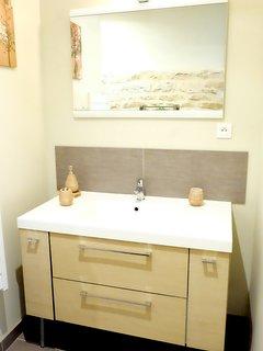 Salle de douche l'orée du bois