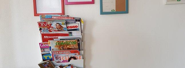 Des magazines internationaux