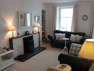 The sitting room with games, books, puzzles and information about the surrounding area.