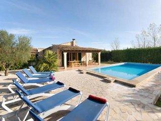 3 bedroom Villa in Pollenca, Balearic Islands, Spain : ref 5455717