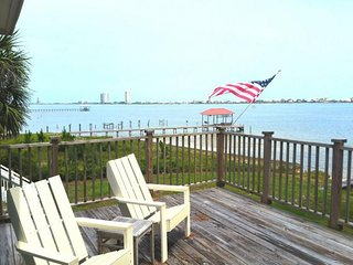 Lagoon-front home w/ tiki bar, 2 kayaks & private dock/boat lift - near beaches!