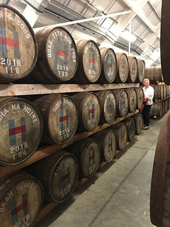 Walk to the distillery and enjoy one of the tours to see how it is made.
