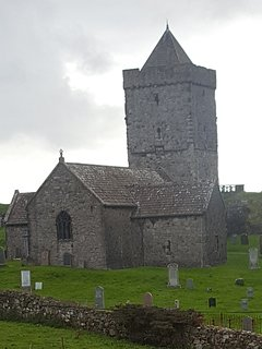 St Clement's Church is a late fifteenth-century or early sixteenth-century church in Rodel, Harris.