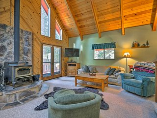 Cabin w/Wraparound Deck in Big Trees Village!