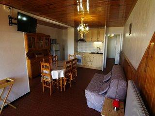 Appartement chaleureux et lumineux 3 pieces 6 places